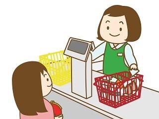 〔職場選べる〕簡単レジ!高時給1300円・週3~・日払いOK イメージ1