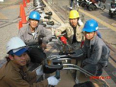 【アルバイト】未経験OK!駐輪場設置工事 スポット作業員 イメージ1