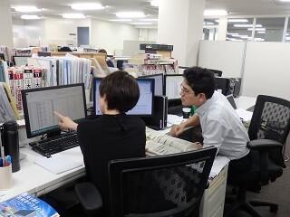 \テレワーク実施中/出版社でデータ集計&DB管理!残業なし イメージ1